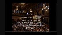 BACH CONCERTO BWV 1065 LABECQUE SISTERS & IL GIARDINO ARMONICO GIOVANI ANTONINI dir. LIVE