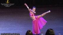 World Bellydance Festival 2014 Children's Oriental Solo, 1st Runner up - Jacqueline Lee