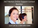 1-844-695-5369| Norton antivirus customer service phone number, Toll free, Telephone, online support