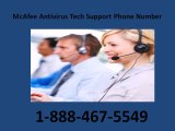 1-888-467-5549 MCAfee Antivirus Technical Support Number