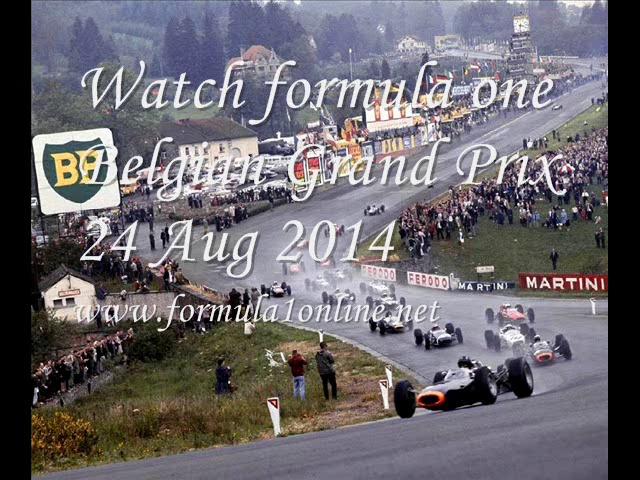 2014 formula one Belgian Grand Prix