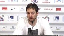 """Mundobasket 2014 - Pau Gasol: """"Es un grupo exigente"""""""