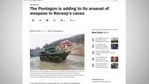Marines Keep A Stash Of Tanks In Fortified Norwegian Caves