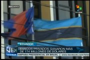 Socializa Rafael Correa las ganancias de la banca ecuatoriana