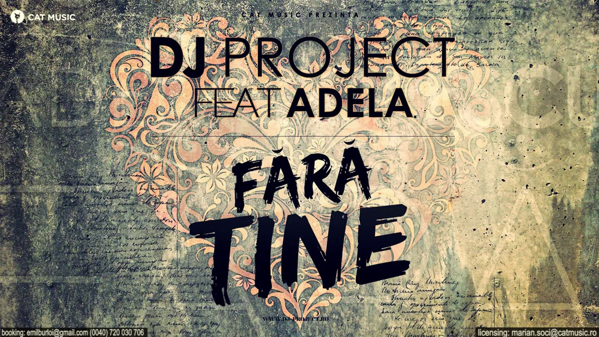Dj Project feat  Adela - Fara Tine (Official Single)