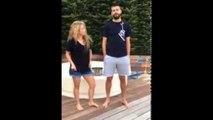 Shakira & Pique Ice Bucket Challenge Challenge ! Ice Bucket Challenge Als Shakira !