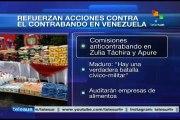 Gobierno de Venezuela refuerza operativos contra el contrabando