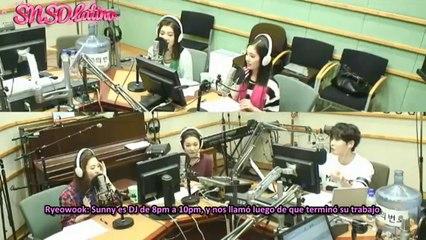 SNSD Sunny hace una broma a Red Velvet en el programa de radio de Super Junior Ryeowook