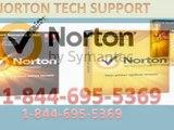 1-844-695-5369- Norton antivirus customer service phone number