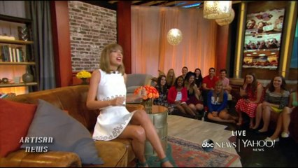 TAYLOR SWIFT TALKS IMPETUS FOR SHAKE IT OFF, FORTHCOMING ALBUM 1989