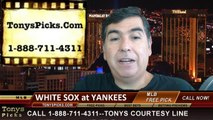 New York Yankees vs. Chicago White Sox Pick Prediction MLB Betting Lines Odds Preview 8-22-2014