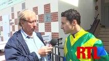 Interview de Christophe Lemaire, jockey de VERBA STARS