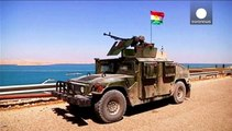 Kurdish forces battle Islamic State as West weighs next move