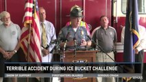 Four Firefighters Injured By Electrical Shock During 'Ice Bucket Challenge'