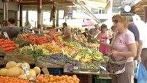 European farmers protest over lost revenue from Russia sanctions retaliation