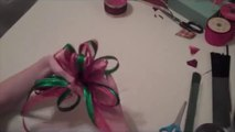 How to Make Hair Bows for Holidays - How to Make a Hair Bow - How to Make Bows