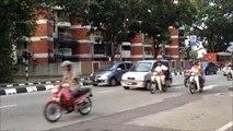 ペナンの朝の通勤風景 Commute morning landscape Penang