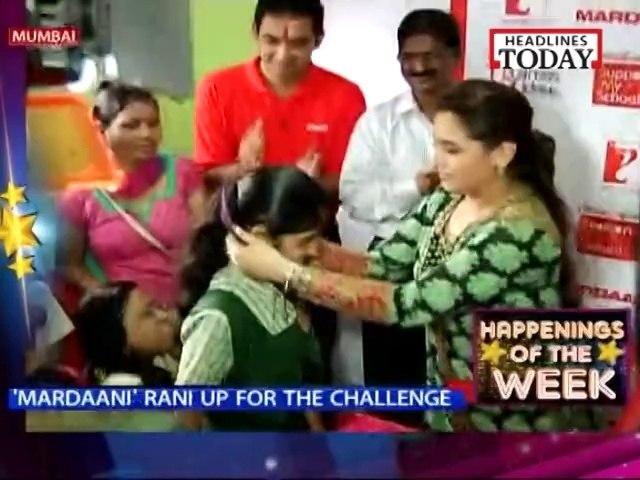 Rani rooting the women power
