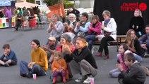 Festival l'Oreille des marais : le coup de la marionnette humaine !