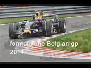 watch Formula One Belgian grandprix 2014