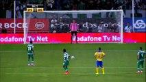 Football - Le pénalty raté de Nani pour ses débuts au Sporting