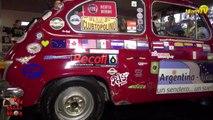 Miami TV Life - Jenny Scordamaglia con Juan y Santiago @ Argentina Alaska en Fiat 600.