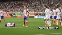 Cristiano Ronaldo Punches vs Diego Godin Atletico Madrid vs Real Madrid 2014.