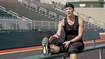 How to Stretch the Calf Muscle With a Sit & Reach _ Exercise & Fitness Tips