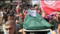 Israéliens et Palestiniens enterrent leurs morts en pleins bombardements