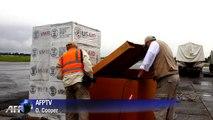 L'USAID débarque 16 tonnes de matériel contre Ebola au Liberia
