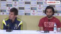TFF Süper Kupa maçına doğru - Selçuk İnan ve Emre Belözoğlu