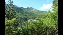 Boucle  Meyronnes  St  Ours par La Rochaille   (Alpes de Haute Provence)