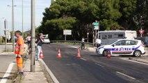 N568 : cinq véhicules impliqués dans un accident grave