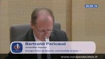 Interventions SP Bertrand Pericaud et Brigitte Passebosc DSP ports Calais Boulogne 03-07-14
