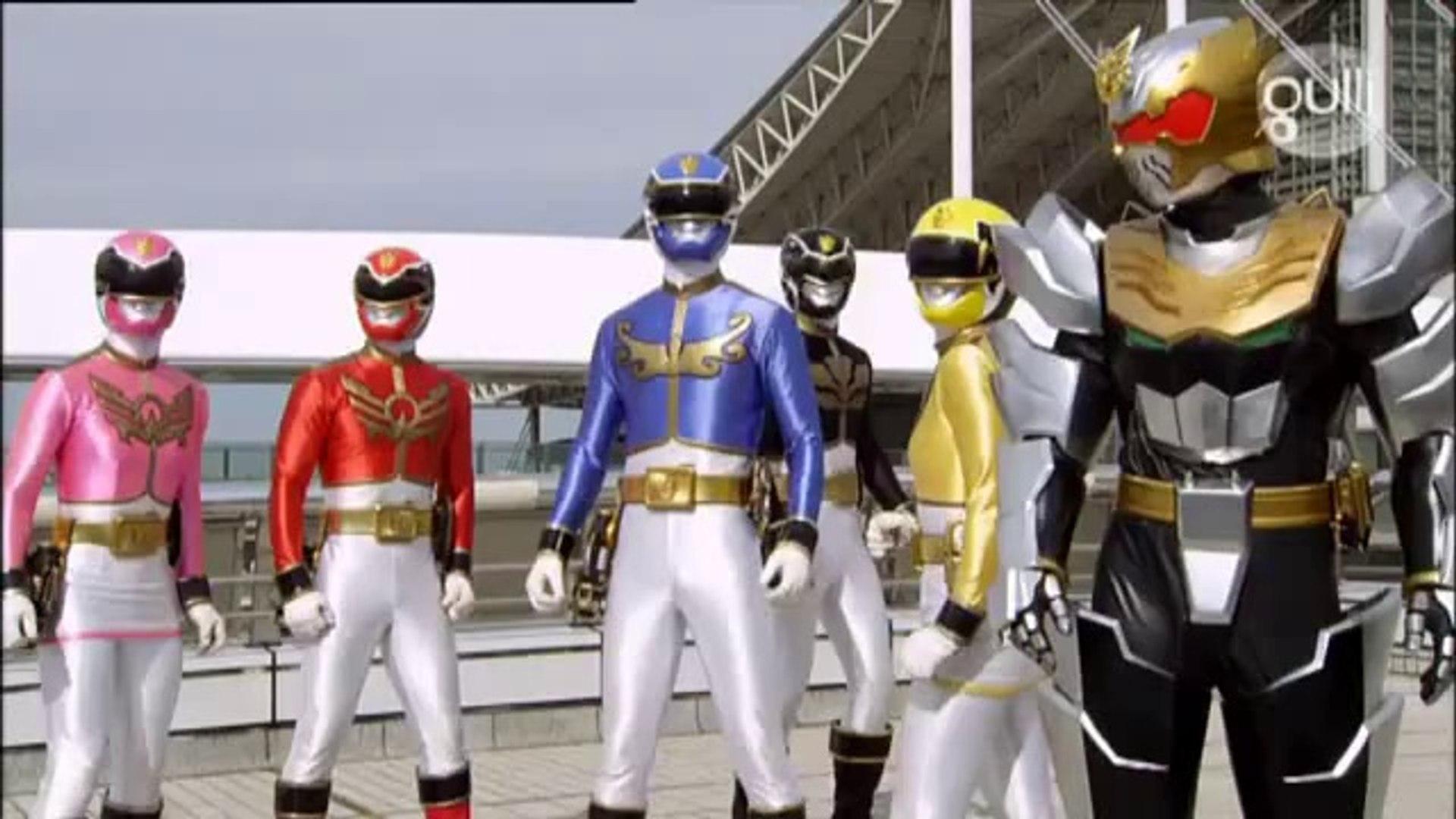 Power Rangers Mégaforce Episode 19