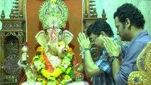 Sachin Pilgaonkar & Satish Rajwade Attends Ganapati Arrival At Mumbai – Sangato Aika Marathi Movie