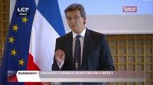 Conférence de presse d'Arnaud Montebourg - Evénements