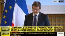 "Arnaud Montebourg ""reprend"" sa liberté"