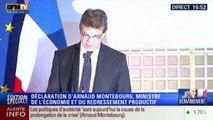 Montebourg fustige les politiques d'austérité