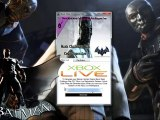 Batman Arkham Origins Black Mask Challenge Map DLC Giveaway Free-Xbox 360 / PS3