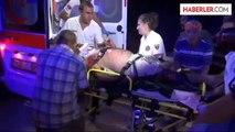 Gaziantep'te Tır Minibüse Çarptı 8'i Suriye Uyruklu 13 Yaralı