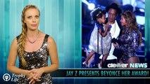 Jay Z & Blue Ivy Present Beyonce With Vanguard Award at 2014 MTV VMAs