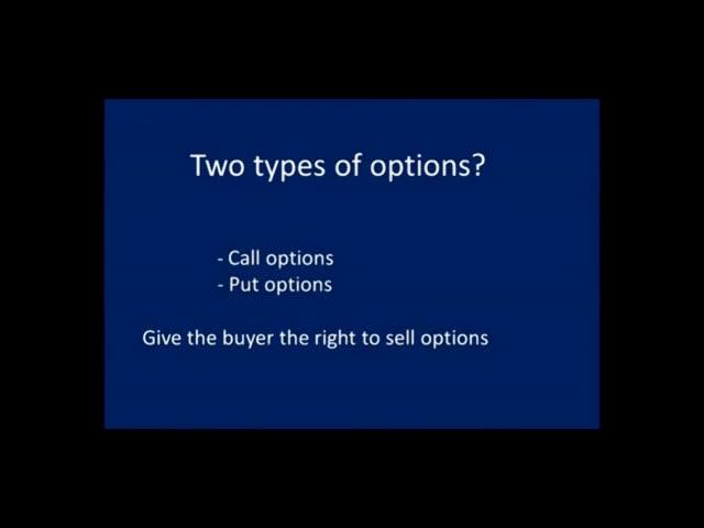 call option trading basics