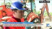 Un nou şantier pe traseul Chișinău-Ungheni. Vor fi cheltuiți 27 de milioane de euro, din fonduri europene