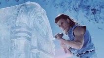 """Jean-Claude Van Damme dans une publicité pour une marque de bière """"Coors Light"""""""