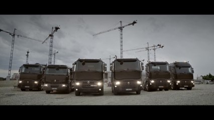 C Range, Renault Trucks construction range