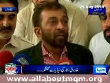 MQM delegation visits Javed Hashmi at PIMS