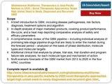 Glioblastoma Multiforme Therapeutics Market Forecasts to 2020