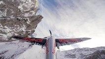 Vol avec le pilote Air Force de Red Bull au dessus des Alpes : magnifique!