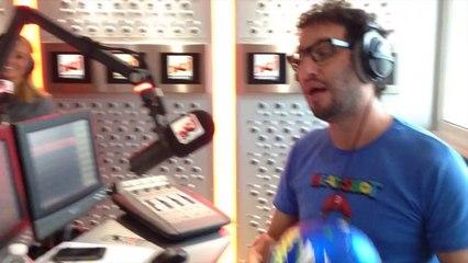Oriane a peur des ballons !